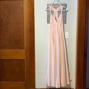 Lulus blush pink dress